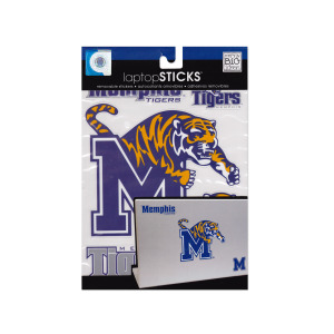24  Pieces Per Pack Of  Memphis Tigers Removable Laptop Stickers ][Wholesales Purchase Hoodmat.Com