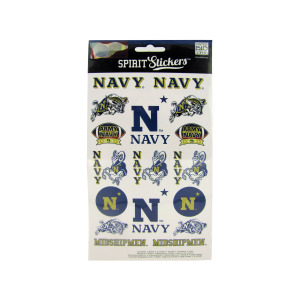 24  Pieces Per Pack Of  Navy Spirit Stickers ][Wholesales Purchase Hoodmat.Com