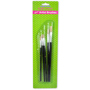 24 Pieces Per Pack Of Acrylic Artist Brushes Set][Wholesales Purchase Hoodmat.Com