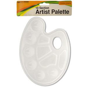 20 Pieces Per Pack Of 10 Section Artist Paint Palette ][Wholesales Purchase Hoodmat.Com