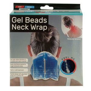 4 Pieces Per Pack Of Therapeutic Gel Beads Neck Wrap ][Wholesales Purchase|Hoodmat.Com