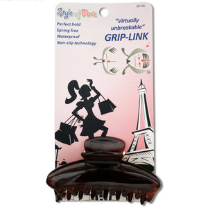 24 Pieces Per Pack Of Grip-Link Octopus Hair Clip ][Wholesales Purchase|Hoodmat.Com