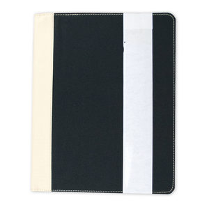 12 Pieces Per Pack Of Berkeley Sand and Black Recycled Padfolio ][wholesales purchase|hoodmat.com