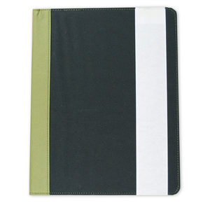 12 Pieces Per Pack Of Berkeley Olive and Black Recycled Padfolio ][wholesales purchase|hoodmat.com