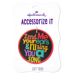 48  Pieces Per Pack Of  'Lend Me Your Ear' Gift Trim Tag ][wholesales purchase|hoodmat.com
