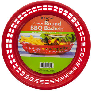 20 Pieces Per Pack Of Round Barbecue Baskets ][Wholesales Purchase|Hoodmat.Com