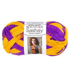 12  Pieces Per Pack Of  Purple &Amp; Gold Team Spirit Sashay Yarn  ][Wholesales Purchase|Hoodmat.Com
