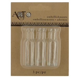 20 Pieces Per Pack Of Mini Clear Craft Wine Bottle Set][Wholesales Purchase Hoodmat.Com