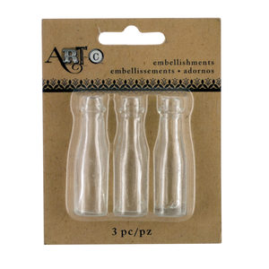 20 Pieces Per Pack Of Mini Clear Craft Champagne Bottle Set][Wholesales Purchase Hoodmat.Com