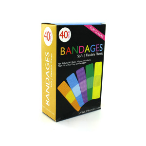 12 Pieces Per Pack Of Fun Color Bandages ][Wholesales Purchase|Hoodmat.Com