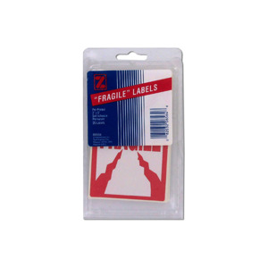 20PK FRAGILE LABELS X1
