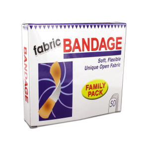 24 Pieces Per Pack Of Flexible Fabric Bandages ][Wholesales Purchase|Hoodmat.Com