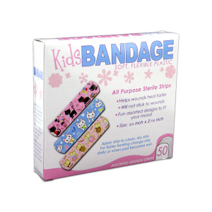 24 Pieces Per Pack Of Bandages With Kids Designs ][Wholesales Purchase|Hoodmat.Com