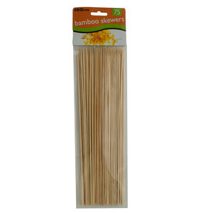 12 Pieces Per Pack Of Barbecue Bamboo Skewers ][Wholesales Purchase|Hoodmat.Com