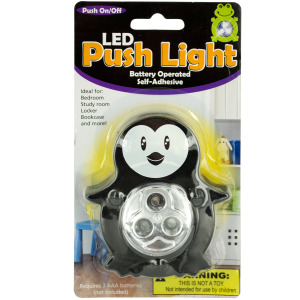 12 Pieces Per Pack Of Animal Led Push Light ][Wholesales Purchase|Hoodmat.Com