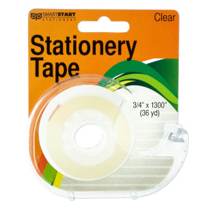 12 Pieces Per Pack Of Clear Stationery Tape In Dispenser][Wholesales Purchase Hoodmat.Com