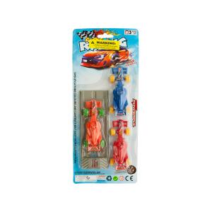 12 Pieces Per Pack Of Race Car Launch Set ][Wholesales Purchase   Hoodmat.Com