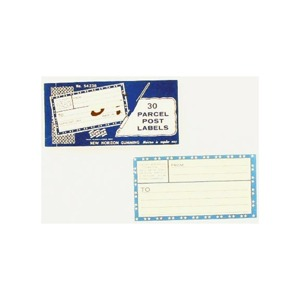 30 PARCEL POST LABELS X1