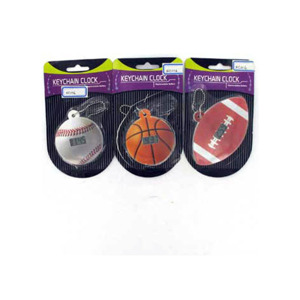 KEYCHAIN SPORTS CLOCK X2