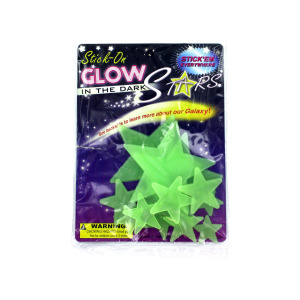 24 Pieces Per Pack Of Stick-On Glow In The Dark Stars ][Wholesales Purchase   Hoodmat.Com