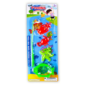 16 Pieces Per Pack Of Fishing Game Play Set ][Wholesales Purchase   Hoodmat.Com
