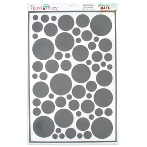 18 Pieces Per Pack Of Confetti Pattern Stencil Masks ][Wholesales Purchase Hoodmat.Com