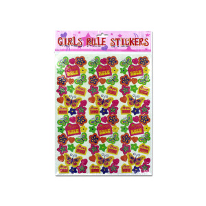 GIRLS RULE STICKERS