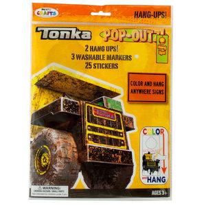 20 Pieces Per Pack Of Tonka Trucks Pop-Outz Hang Ups Activity Set ][Wholesales Purchase Hoodmat.Com