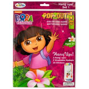20 Pieces Per Pack Of Dora The Explorer Pop-Outz Hang Ups Activity Set ][Wholesales Purchase Hoodmat.Com