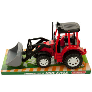 2 Pieces Per Pack Of Friction Powered Toy Farm Tractor ][Wholesales Purchase   Hoodmat.Com