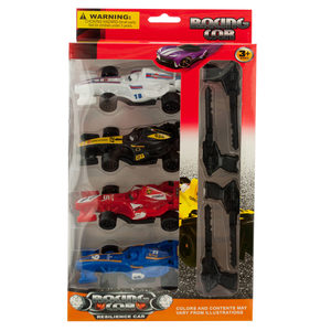 4 Pieces Per Pack Of Racing Car Launch Set ][Wholesales Purchase   Hoodmat.Com