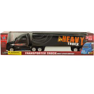 2 Pieces Per Pack Of Friction Powered Transporter Trailer Truck ][Wholesales Purchase   Hoodmat.Com