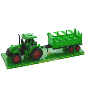 4 Pieces Per Pack Of Friction Powered Farm Tractor Trailer Truck With Roller ][Wholesales Purchase   Hoodmat.Com