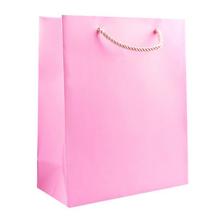 24  Pieces Per Pack Of  Medium Solid Pink Gift Bag ][wholesales purchase|hoodmat.com