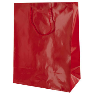 24  Pieces Per Pack Of  Medium Solid Red Gift Bag ][wholesales purchase|hoodmat.com