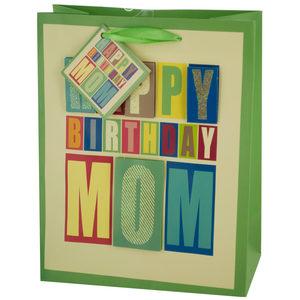 24  Pieces Per Pack Of  Medium Block Letter Birthday Gift Bag ][wholesales purchase|hoodmat.com