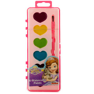 12 Pieces Per Pack Of Sofia The First Watercolor Paint Set ][Wholesales Purchase Hoodmat.Com