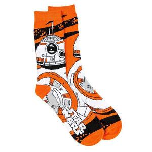 24 Pieces Per Pack Of Star Wars Men's BB-8 Droid Socks ][wholesales purchase|hoodmat.com