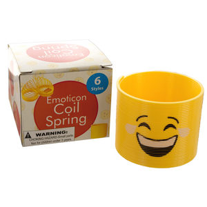 18 Pieces Per Pack Of Emoticon Coil Spring ][Wholesales Purchase   Hoodmat.Com