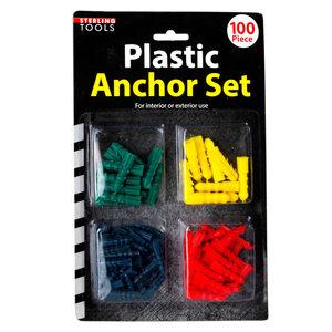 12 Pieces Per Pack Of Plastic Anchors Set ][wholesales purchase|hoodmat.com