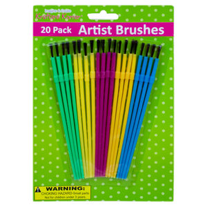 24 Pieces Per Pack Of Artist Brushes][Wholesales Purchase Hoodmat.Com