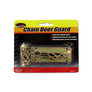 24 Pieces Per Pack Of Chain Door Guard with Screws ][wholesales purchase|hoodmat.com