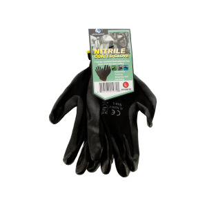 12 Pieces Per Pack Of Nitrile Coated Gloves ][wholesales purchase|hoodmat.com