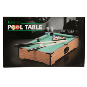 1 Pieces Per Pack Of Tabletop Pool Table ][wholesales purchase hoodmat.com