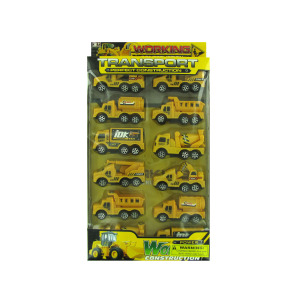 4 Pieces Per Pack Of Construction Truck Toy Set ][Wholesales Purchase   Hoodmat.Com