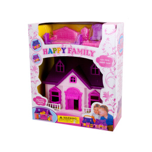 4 Pieces Per Pack Of Mini Dream House Play Set ][Wholesales Purchase   Hoodmat.Com