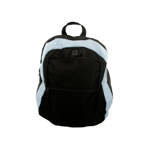 1 Pieces Per Pack Of Light Blue and Black Canvas Backpack ][wholesales purchase|hoodmat.com