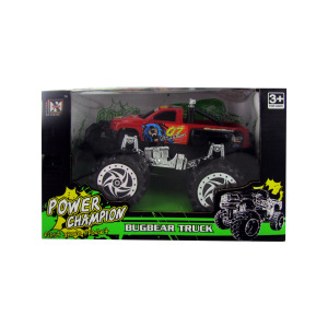 3 Pieces Per Pack Of Friction Big Wheel Super Power Pickup Truck ][Wholesales Purchase   Hoodmat.Com