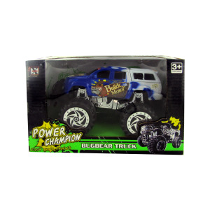 3 Pieces Per Pack Of Friction Big Wheel Super Power Truck ][Wholesales Purchase   Hoodmat.Com