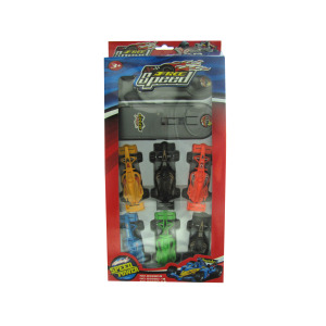 12 Pieces Per Pack Of Press &Amp; Go Race Car Set ][Wholesales Purchase   Hoodmat.Com